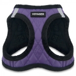 Voyager Plush Faux Leather Harness - Purple