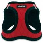 Voyager Plush Harness - Red Base