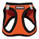 Voyager Mesh Step-In Harness - Orange Base