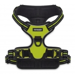 Dual-Attachment Adjustable Harness - 3M Reflective Band - Lime