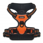 Dual-Attachment Adjustable Harness - 3M Reflective Band - Orange
