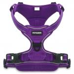 Voyager Dual-Attachment Adjustable Harness - Purple Lattice