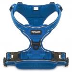 Voyager Dual-Attachment Adjustable Harness - Royal Blue Lattice