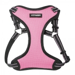 Adjustable Step-In Harness - 3M Technology - Pink