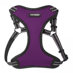 Adjustable Step-In Harness - 3M Technology - Purple