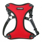Adjustable Step-In Harness - 3M Technology - Red