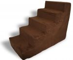 Stair - Dark  Brown Suede