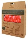 Poop bags - Argyle Red