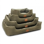 Modern Rectangular Pet Bed (Olive)
