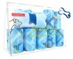 Poop Bags - Diamond Bone Blue