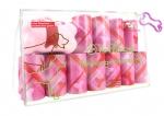 Poop Bags - Diamond Bone Pink