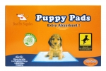Blue Puppy Pads - (4 Boxes/Carton)