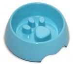 Anti Gulping Pet Bowl - Baby Blue