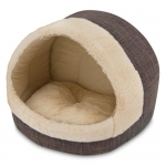 Cave Bed for Cats - Dark Brown