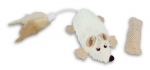 Non-stuffed Mouse with Catnip Bag - natural