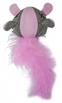 Glow-In-The-Dark Mouse with Feather - Pink