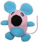 Glow-In-The-Dark Rattling Mouse  - Pink
