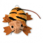 Motorized Series - Mouse, Brown with Black Stripes