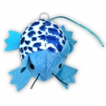 Motorized Series - Mouse, Blue Animal Print