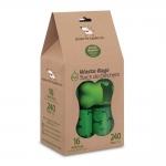 Poop Bags - Green with Bones