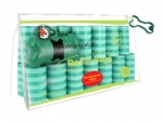Poop Bags - Green Striples