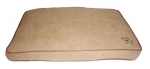 Cushion - Light Brown Suede