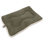 Crate Mat - Olive Green Suede