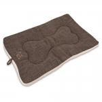 Crate Mat - Brown Linen