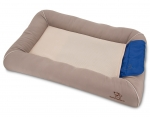 Pet Cooling Crate Mat - Taupe