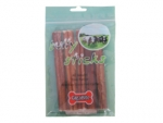 6 in Plain Bully Stick (12 Bags/Box)