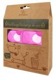 Poop bags - Pink Circles