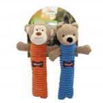 Log Combo Pack - Monkey and Bear