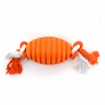 Football With Ropes Orange