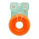Squeakin Donut Dog Toy - Orange