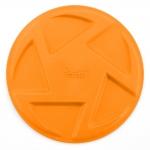 TPR frisbee - Blood Orange