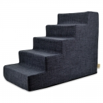 Pet Stairs - Dark Gray Linen