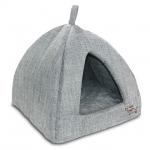 Grey Linen Tent Bed