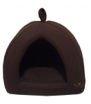 Tent Bed - Dark Brown Corduroy