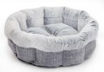 Light Gray Round Bed