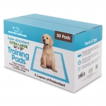 Extra Large Puppy Pads - 50 Pcs (4 Color Boxes/Carton)